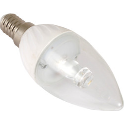 LED 3.2W Candle Lamp BC Warm White 100lm - 65285 - from Toolstation