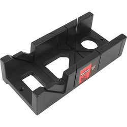 Minotaur Minotaur Plastic Mitre Box 305 x 140mm - 65298 - from Toolstation