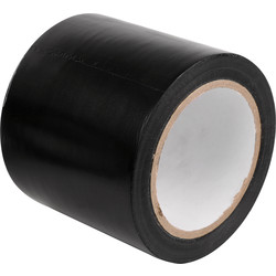 Single Sided PVC Tape 33m x 100mm - 65315 - from Toolstation