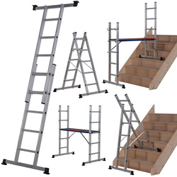 Werner Werner 5 In 1 Combination Ladder  - 65318 - from Toolstation