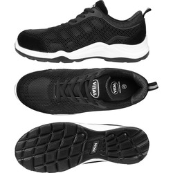 Vital X Active Safety Trainers Black Size 10 - 65339 - from Toolstation