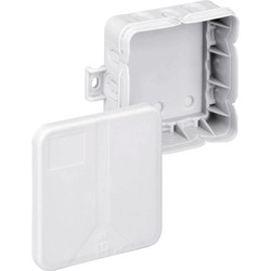 Unbranded Junction Box IP20 Q12 15 Entries - 65413 - from Toolstation