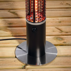 Daewoo 3 in 1 1500W Freestanding Patio Heater with Speaker and LED Light
