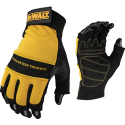 DeWalt DeWalt Tough Fingerless Performance Gloves  - 65590 - from Toolstation
