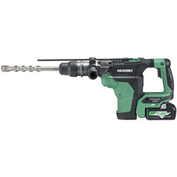 Hikoki Hikoki 36V MultiVolt Brushless Rotary SDS Max 40mm Hammer Drill 2 x 4.0Ah - 65629 - from Toolstation