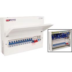 Supra Protek 20 Module Consumer Unit Splitting for Spares
