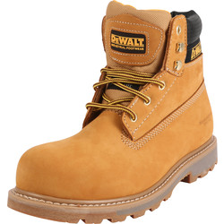 DeWalt DeWalt Hancock Safety Boots Wheat Size 5 - 65886 - from Toolstation