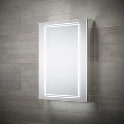 Sensio Sensio Harlow Single Door LED Mirror Cabinet 700 x 500 x 138mm - 65887 - from Toolstation