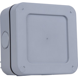 BG BG IP66 Junction Box 113 x 113 x 55mm - 65903 - from Toolstation