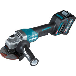 Makita Makita XGT 40V Max Angle Grinder 115mm 1 x 2.5Ah - 65955 - from Toolstation