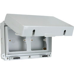 Weatherproof Accessory Box IP65 Dual - 66026 - from Toolstation