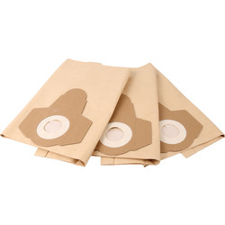 Draper Draper 20L Wet & Dry Vacuum Cleaner Dust Bags 20515 - 66073 - from Toolstation
