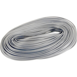 Unbranded PVC Cable Sleeving 100m 3mm Grey - 66153 - from Toolstation