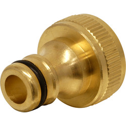 Brass Tap Connector  - 66154 - from Toolstation