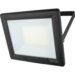 Wessex Electrical Wessex LED Floodlight IP65 50W 4000lm Black - 66226 - from Toolstation