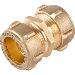 Conex Banninger Conex 301 Compression Straight Coupler 22mm - 66332 - from Toolstation