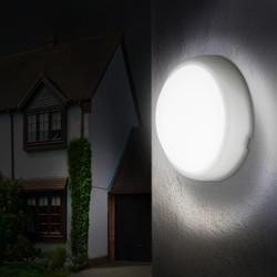 Luceco Eco LED Mini Round Bulkhead IP54
