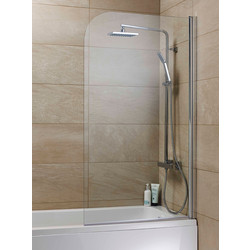 Curved Bath Screen  - 66358 - from Toolstation