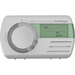FireAngel FireAngel Digital & 7 Year Life Carbon Monoxide Alarm CO9D  Sealed in Battery - 66368 - from Toolstation