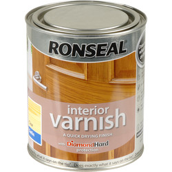 Ronseal Ronseal Interior Varnish 750ml Satin Clear - 66397 - from Toolstation