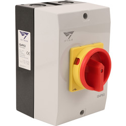 IMO Stag IMO Stag 4 Pole Rotary Isolator 63A IP65 - 66413 - from Toolstation