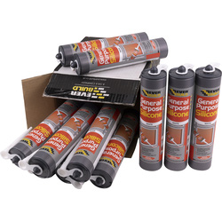 Everbuild General Purpose Silicone 310ml White - 66418 - from Toolstation