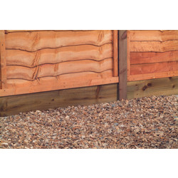 Forest Forest Garden Gravel Board - 5 Pack 15cm (h) x 183cm (w) x 2.2cm (d) - 66445 - from Toolstation
