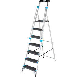 TB Davies TB Davies Premier XL Platform Step Ladder 7 Tread SWH 3.1m - 66448 - from Toolstation