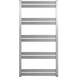 Pitacs Aeon Cat Ladder Designer Towel Warmer 800 x 530mm Btu 946 Brushed Stainless Steel - 66478 - from Toolstation