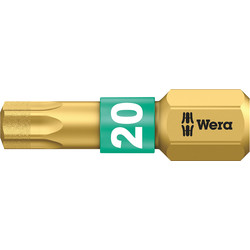 Wera Wera BiTorsion Diamond 25mm Bit TX20 x 25mm - 66594 - from Toolstation