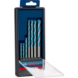 Bosch Bosch Multi Construction TCT Drill Bit Set  - 66729 - from Toolstation