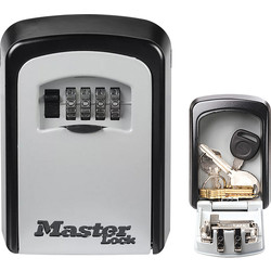 Master Lock Master Lock Combination Key Safe Medium 85 x 119 x 36mm - 66765 - from Toolstation