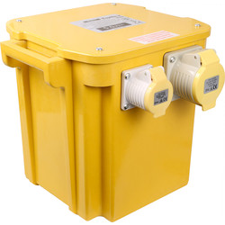 110V Tool Transformer 5kVA 1x32A 2x16A Outlets - 66768 - from Toolstation