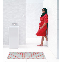 Twin Conductor Underfloor Heating Mat 3.0m x 0.5m (1.5m2)