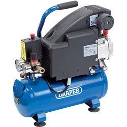 Draper Draper 8L 750W Air Compressor 230V - 66813 - from Toolstation