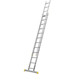 Lyte Ladders Lyte Trade Extension Ladder 2 section, Closed Length 3.42m - 66822 - from Toolstation