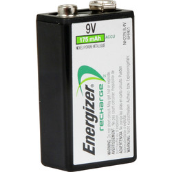Energizer Energizer Power Plus Pre Charged Rechargeable Battery 9V 9V 175mAh - 66836 - from Toolstation