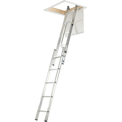 Werner Werner 2 Section Loft Ladder & Handrail  - 66859 - from Toolstation
