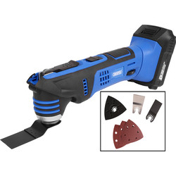 Draper Draper D20 20V Li-ion Cordless Quick Change Multi Cutter 1 x 2.0Ah - 66899 - from Toolstation