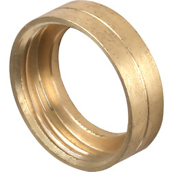Unbranded Brass Bush Female 20mm - 66914 - from Toolstation