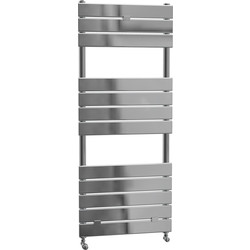 Cassellie Malham Straight Designer Radiator 1213 x 500mm Chrome 1512Btu - 66916 - from Toolstation