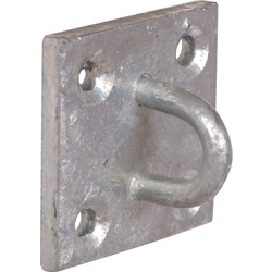 Chain Plate Staple Galvanised - 66964 - from Toolstation