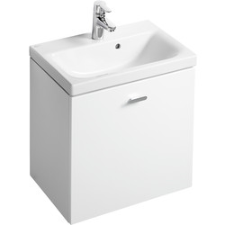 Ideal Standard Ideal Standard Senses Space Compact Basin & Unit White Gloss - 66996 - from Toolstation