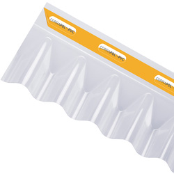 Corrapol Corrapol PVC Wall Flashing 950 x 220mm - 67016 - from Toolstation