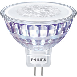 Philips Philips LED 12V MR16 Lamp 7W Warm White 621lm - 67099 - from Toolstation