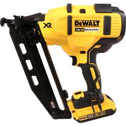 DeWalt DeWalt DCN660D2-GB 18V XR Brushless 2nd Fix Nailer 2 x 2.0Ah - 67117 - from Toolstation