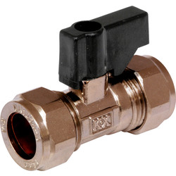 Isolating Valve Handled 15mm - 67155 - from Toolstation