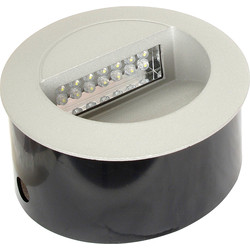 LED 1.2W Round Wall Light 230V IP65 Cool White 6000K - 67241 - from Toolstation