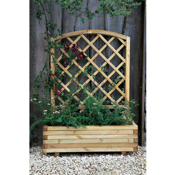 Forest Forest Garden Toulouse Planter 135cm (h) x 100cm (w) x 40cm (d) - 67285 - from Toolstation