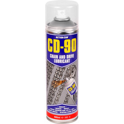 Action Can Action Can CD-90 Chain & Drive Lubricant 500ml - 67314 - from Toolstation
